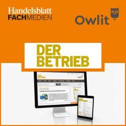 Handelsblatt Online: Owlit-Basismodul DER BETRIEB