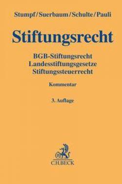 Stiftungsrecht / C.H.Beck / 9783406721038