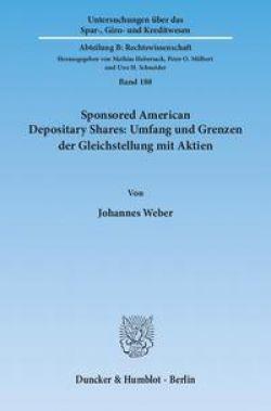 Sponsored American Depositary Shares: Umfang und Grenzen ...